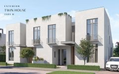 Twin house For Sale At O West October Image