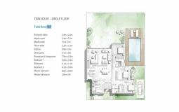 TWIN HOUSE – SINGLE FLOOR Baymount Sokhna 167sqm - توين هاوس للبيع في باي ماونت السخنة 167 متر مربع