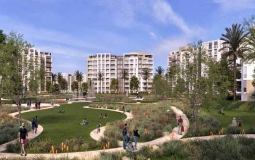 Two Bedrooms Apartment 104 sq - ZED East New Cairo - بالتقسيط شقة للبيع في زيد ايست القاهرة الجديدة 104 متر
