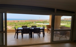 Sea View Upper Chalet For Rent At Telal North Coast