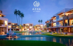 Twin House For Sale At Azha Ain Sokhna First Lagoon