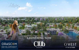 Club Residence - O West 6th October Apartment 71 M2 For Sale